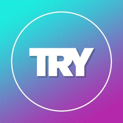 try channel logo